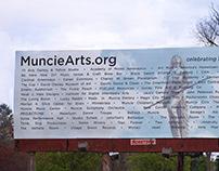 Muncie Arts and Culture Billboard