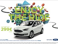 Enjoy the ride, Ford European Campaign
