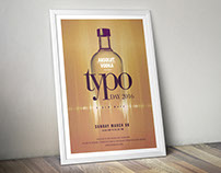 Concept Poster Design 2 Typo Day 2016
