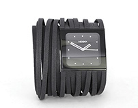 Scribble band for Nooka ZubZan watch