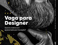 Vaga para Designer