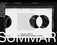 Studio—BA® Website