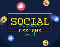 Social Media Designs VOL-1