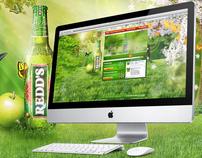 Redds.sk website
