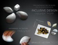Packaging design for the blind