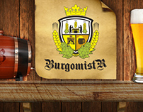 Website for 'Burgomistr' Brewery