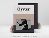 Oyster Fashion Design Portfolio