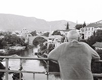 Sadness of Mostar Bridge