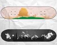 Skateboarding Shapes