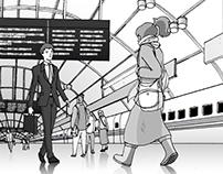 JapanRailways Illustrations