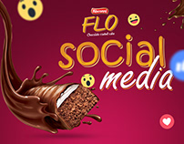 Bisconni Flo Social Media