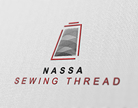 Logo Design for NASSA SEWING THREAD