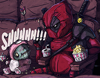 Fan Art // Deadpool Guacala