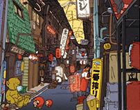 100 Views of Osaka(1〜5)