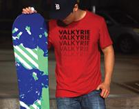 Branding: Valkyrie Snowboards