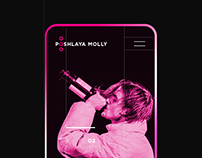 Poshlaya Molly - website concept