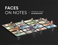 Faces On Notes