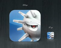 "iPhone application icon ""Minesweeper 3D"""