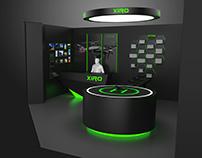 XIRO-零度无人机代理形象店设计-个人原创设计(概念图)