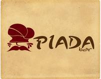 PIADA bar - logo concept