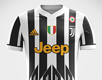 Juventus FC Concept Kits 17/18