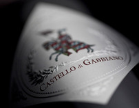 "Castello di Gabbiano ""Bellezza"" Wine Label"