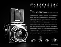Recreated Hasselblad Advert