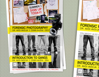 Criminology Summer Courses Promotion