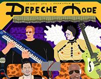 Dream Gigs Illustrated // Depeche Mode