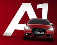 The Audi A1 microsite.