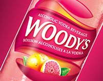 Woody's Fruit Coolers –Packaging Design