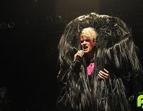 Peaches Costume Design World Tour '09