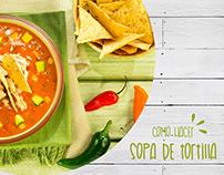Sopa de tortilla / receta