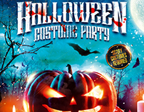 Halloween Night Party Flyer vol.4