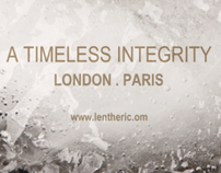 "Masculin Lentheric ""timeless integrity"""