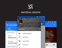 UrbanClap Business app Material Design