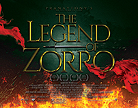 The Legend Of Zorro Movie Poster Design Pranaytony!