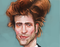 Caricature - Robert Pattinson