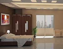 Architectural Visualization : Bedroom