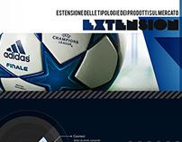 brand extension Adidas