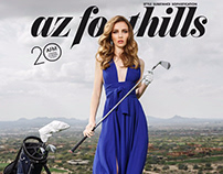Golf lady for Аzfoothills magazine