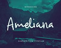 Ameliana Handwritten Typeface