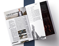 Editorial Design: Bambu Theatre & Literature Magazine