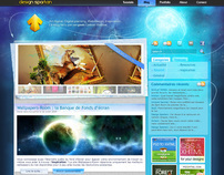 Design Spartan website redesign