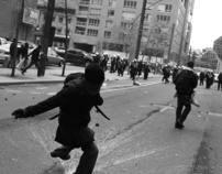 Printemps Érable: émeute contre le Plan Nord