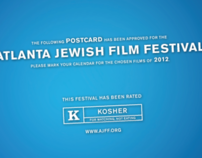 AJFF Preview Postcards