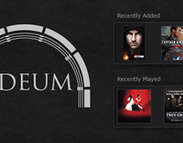 Odeum - iPad Media Center App