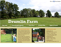 Drumlin Farm Website Redesign