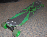 """The Green Machine"": Shlongboard"