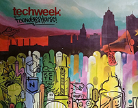 Painting for Techweek KC 2016